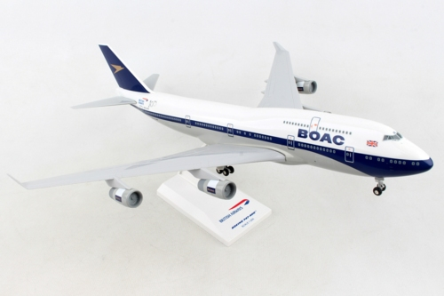 1/200 BOAC BOEING 747-400 BRITISH AIRWAYS 100 WITH GEAR