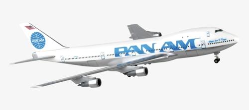 1/200 PAN AM 747-100 JUAN TRIPPE
