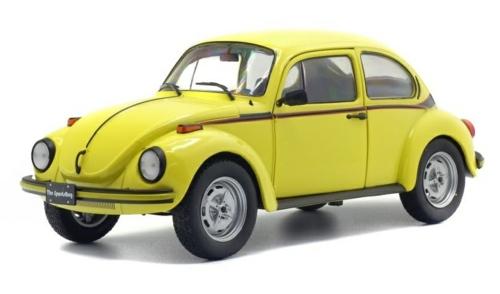 1/18 1974 VW BEETLE 1303 SPORT YELLOW