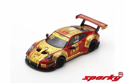 1/64 2018 PORSCHE 911 GT3 R MANTHEY-RACING FIA NO.912 E.BAMBER GT WORLD CUP MACAU (RESIN)