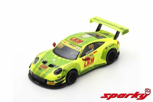 1/64 2018 PORSCHE 911 GT3 R MANTHEY-RACING FIA NO.911 L.VANTHOOR GT WORLD CUP MACAU (RESIN)