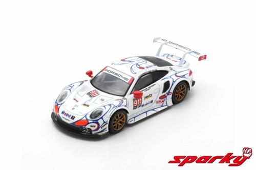 1/64 2018 PORSCHE 911 RSR PORSCHE GT TEAM NO.911 P.PILET/N.TANDY/F.MAKOWIECKI WINNER GTLM CLASS PETIT LE MANS (RESIN)