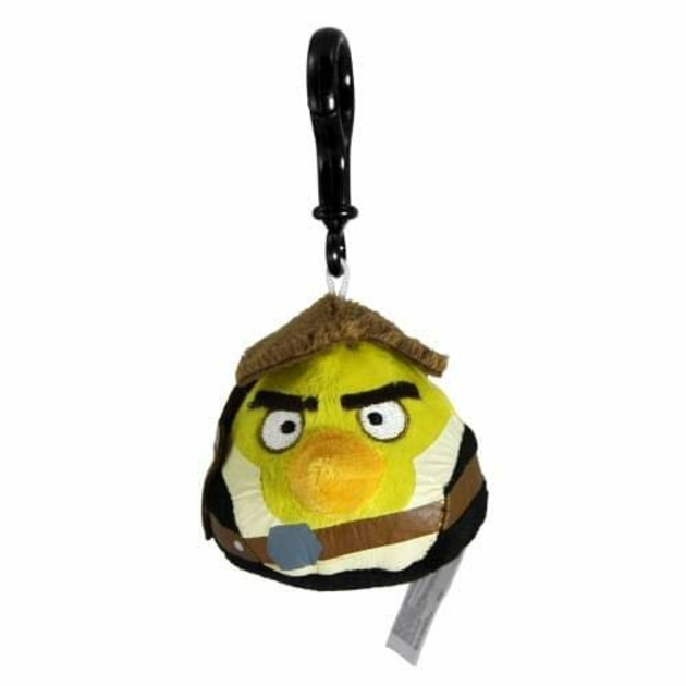STAR WARS ANGRY BIRDS PLUSH HANS SOLO BAG CLIP