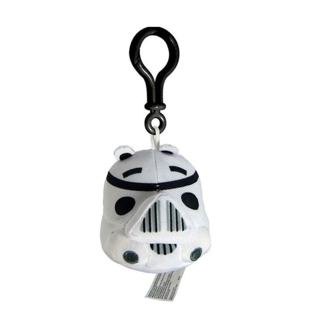 STAR WARS ANGRY BIRDS PLUSH STORMTROOPER BAG CLIP