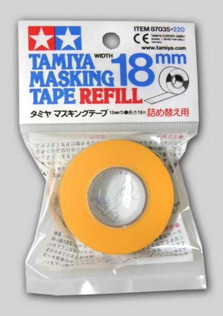 MASKING TAPE REFILL 18MM