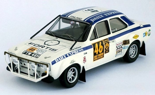 1/43 FORD ESCORT 1850 TC WORLD CUP RALLY LONDON MEXICO 70: