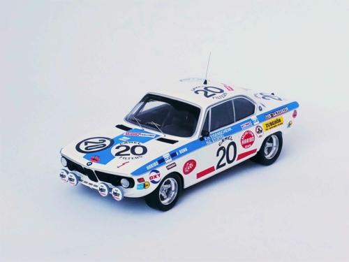 1/43 BMW 2800 CS - 24H SPA 1971 KARL-HEINZ EISENSCHENK / HANS-GÜNTHER STOFFEL/JORGE BURGOA