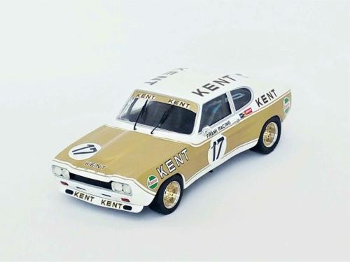 1/43 FORD CAPRI 2600 RS 3RD NURBURGRING 1972 K.FRITZINGER/J-C FRANCK