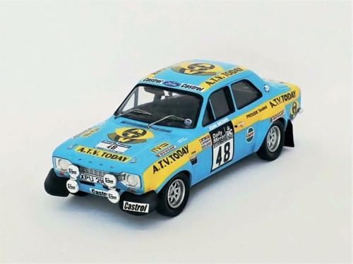 1/43 FORD ESCORT MK1 RAC RALLY 1973 R.BROOKES/J.BROWN