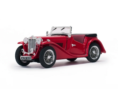 1/43 1946 MG TC OPEN, RED