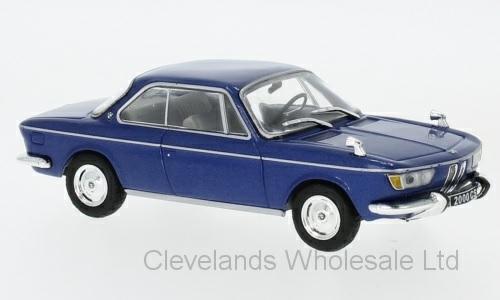1/43 BMW 2000 CS METALLIC BLUE