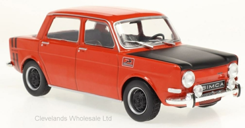 1/24 SIMCA 1000 RALLYE RED 1969