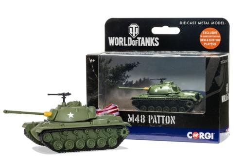 WORLD OF TANKS - M48 PATTON TANK