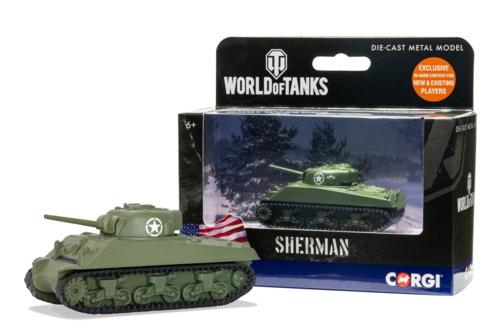WORLD OF TANKS - SHERMAN M4 A3